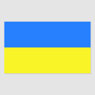 Ukraine Flag Rectangular Sticker