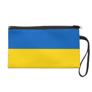 Ukraine Flag Wristlet Purse