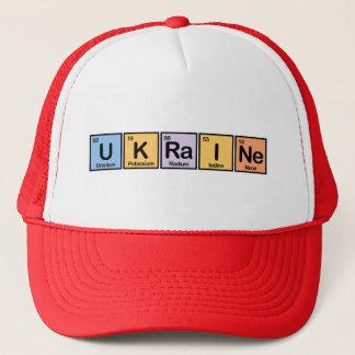 Ukraine made of Elements Trucker Hat