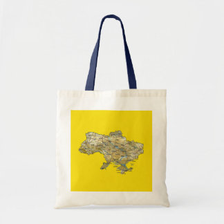 Ukraine Map Bag