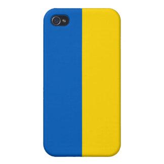 Ukraine National Flag Case For iPhone 4
