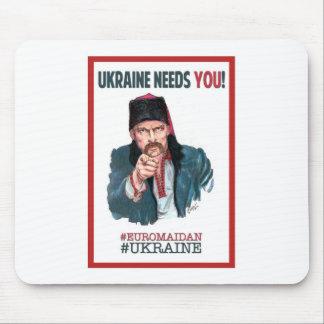 Ukraine Needs You! - Support Euromaidan Mouse Mat