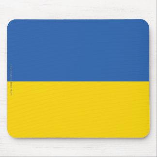 Ukraine Plain Flag Mouse Mat