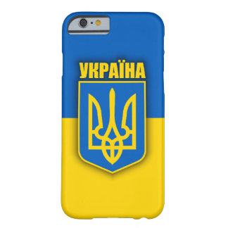 Ukraine Pride Barely There iPhone 6 Case