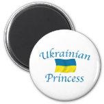 Ukraine Prncess 6 Cm Round Magnet