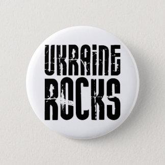 Ukraine Rocks 6 Cm Round Badge