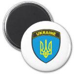 Ukraine Shield Refrigerator Magnet