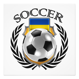 Ukraine Soccer 2016 Fan Gear Photo Art