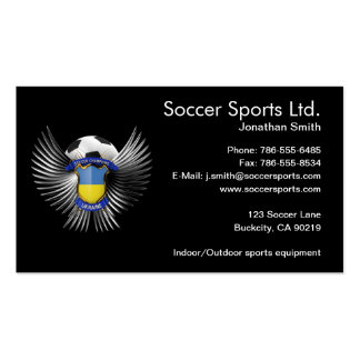 Ukraine Soccer Champions Pack Of Standard Business Cards