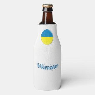 Ukraine Ukrainean Ukraini Flag Bottle Cooler