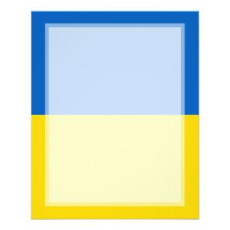 Ukraine – Ukrainian Flag Full Color Flyer