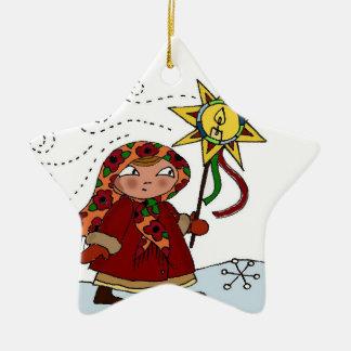 Ukrainian Christmas Star Christmas Tree Ornaments