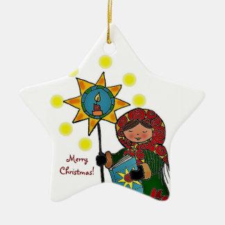 Ukrainian Christmas Star Ornaments