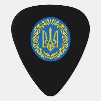 Ukrainian coat of arms plectrum