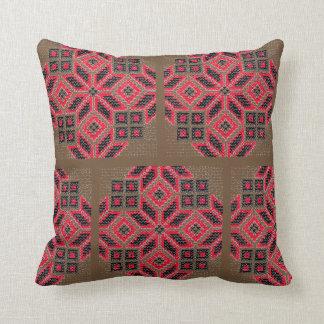 Ukrainian Emboidery Throw Pillow