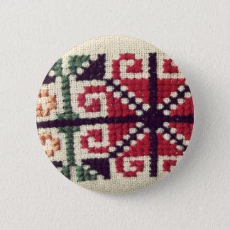 Ukrainian Embroidery 6 Cm Round Badge