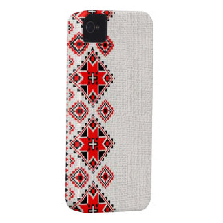 Ukrainian embroidery iPhone 4 case