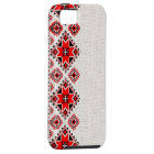 Ukrainian embroidery tough iPhone 5 case