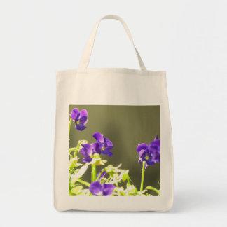 Ukrainian Flowers Grocery Tote Bag