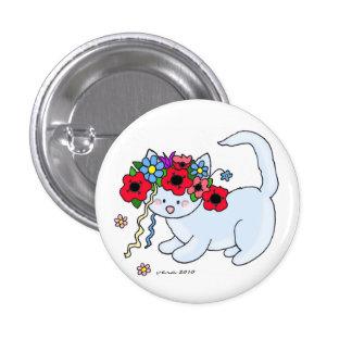 Ukrainian Folk Art Cat Buttons