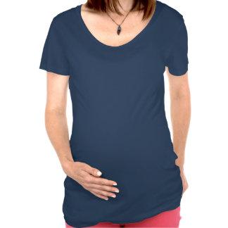 Ukrainian Girl Silhouette Flag Maternity Shirt