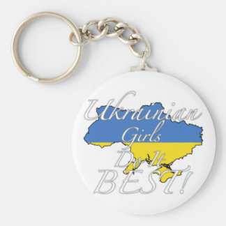 Ukrainian Girls Do It Best! Key Ring