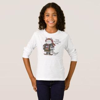 Ukrainian Hutsul Kitsa Kitty Folk art T-Shirt