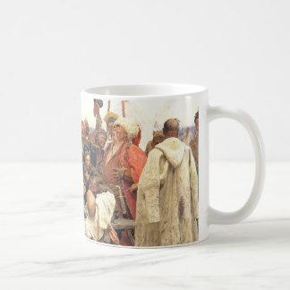 Ukrainian Kozaky/Cossacks by Repin Basic White Mug