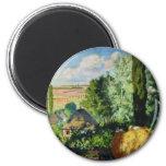 Ukrainian Landscape artwork Refrigerator Magnet
