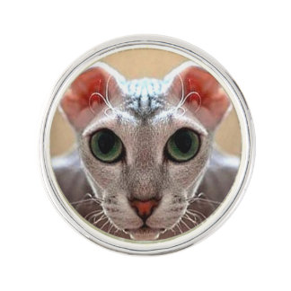 Ukrainian Levkoy Cat Face Pin
