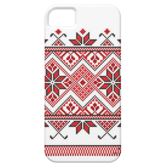 Ukrainian ornament iPhone case