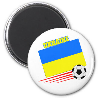 Ukrainian Soccer Team 6 Cm Round Magnet