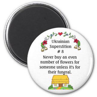 Ukrainian Superstitions 6 Cm Round Magnet