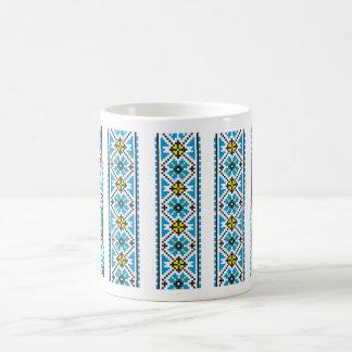 Ukrainian teacup with pattern coffee mug
