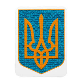 Ukrainian Tryzub Magnet