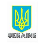 Ukranian Emblem Post Card
