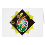ukranian painted easter egg (45) greeting cards