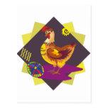 Ukranian Painted Egg (7) Postcard