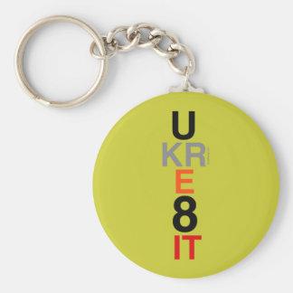 UKRE8IT (You Create It) Keychain