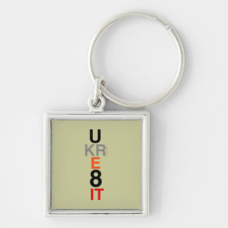 UKRE8IT (You Create It) Premium Square Keychain