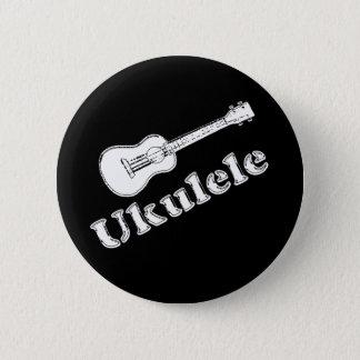Ukulele 6 Cm Round Badge