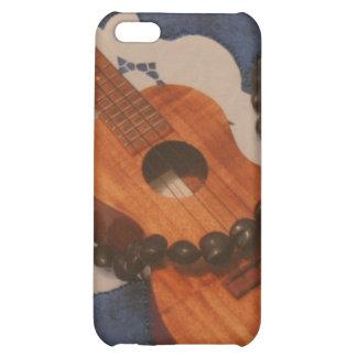 Ukulele and Kukui Nut Lei Case iPhone 5C Cover