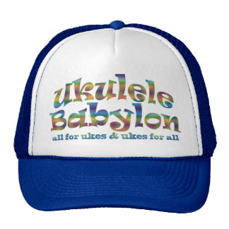 Ukulele Babylon Baseball Cap Mesh Hats