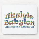 Ukulele Babylon Mousepad