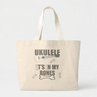 Ukulele Bones Tote Bag