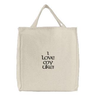 Ukulele Club of Las Vegas Embroidered Tote Bags