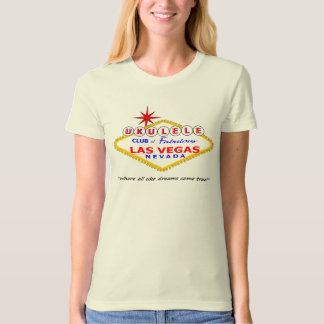 Ukulele Club of Las Vegas T-Shirt