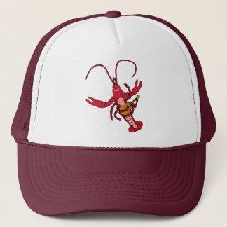 Ukulele Crawfish Trucker Hat