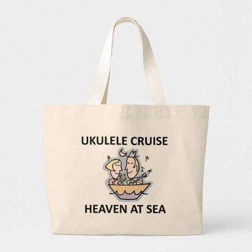 Ukulele Cruise Tote Bags