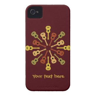 Ukulele custom Blackberry Bold case